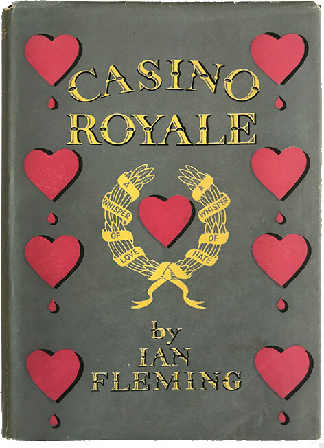 Collectible Ian Fleming book covers
