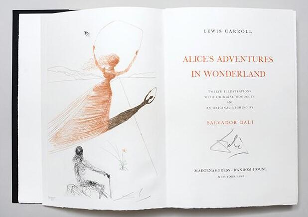 Dali's Alice in Wonderland