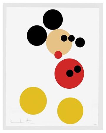Mickey Mouse screenprint