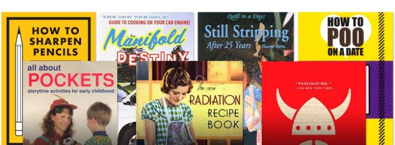 Wonderfully weird books, odd books, bizarre books and more
