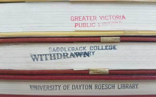 Library stamps